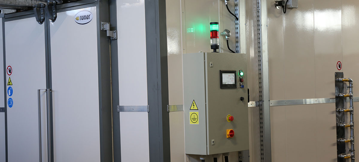 electric furnace/oven for powder coating